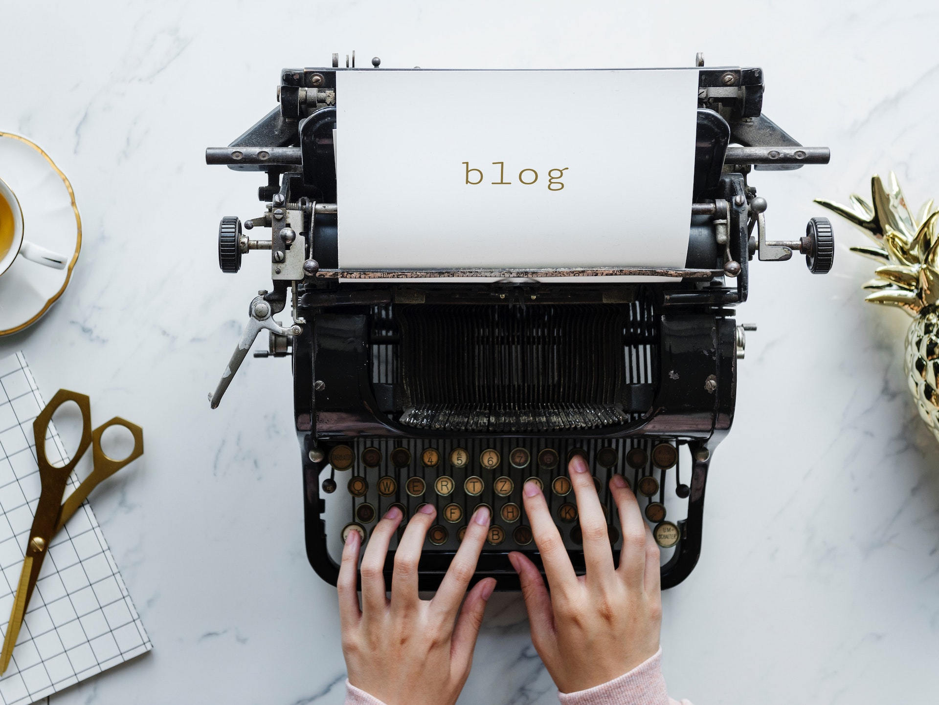 Blogs provide fresh information to your potential customers